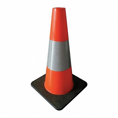 Traffic Cone 18 Cone Height Orange PVC