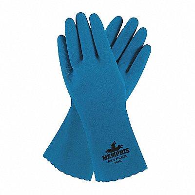 Chemical Resistant Gloves Royal Blue