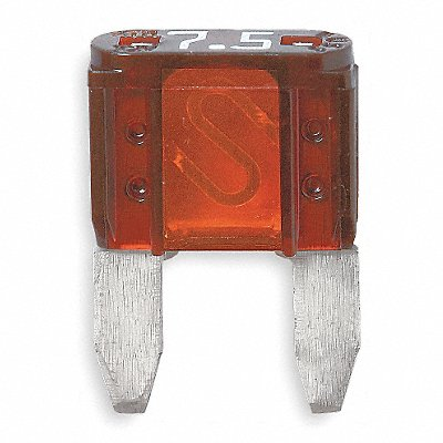 7-1/2A Fast Acting Nonindicating Plastic Fuse with 32VDC Voltage Rating ATM Series Brown  |  Box of