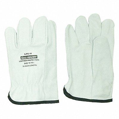 Electrical Glove Protector Cream Import Goatskin 10 Length