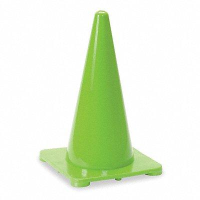 Traffic Cone 18 Cone Height Green Polyethylene