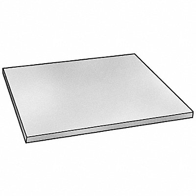 Sheet Stock Polycarbonate 12 L x 12 W x 0.177 Thick 270 Max Temp (F) Clear