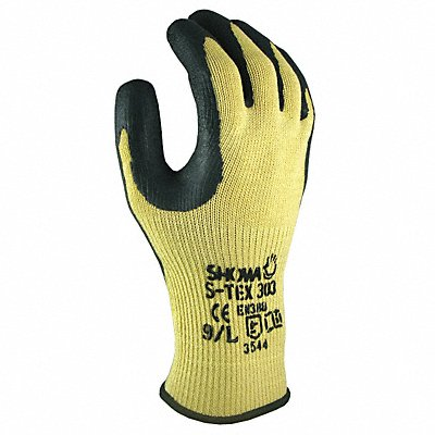 Natural Rubber Latex Cut Resistant Gloves ANSI/ISEA Cut Level A8 Kevlar? Stainless Steel Lining