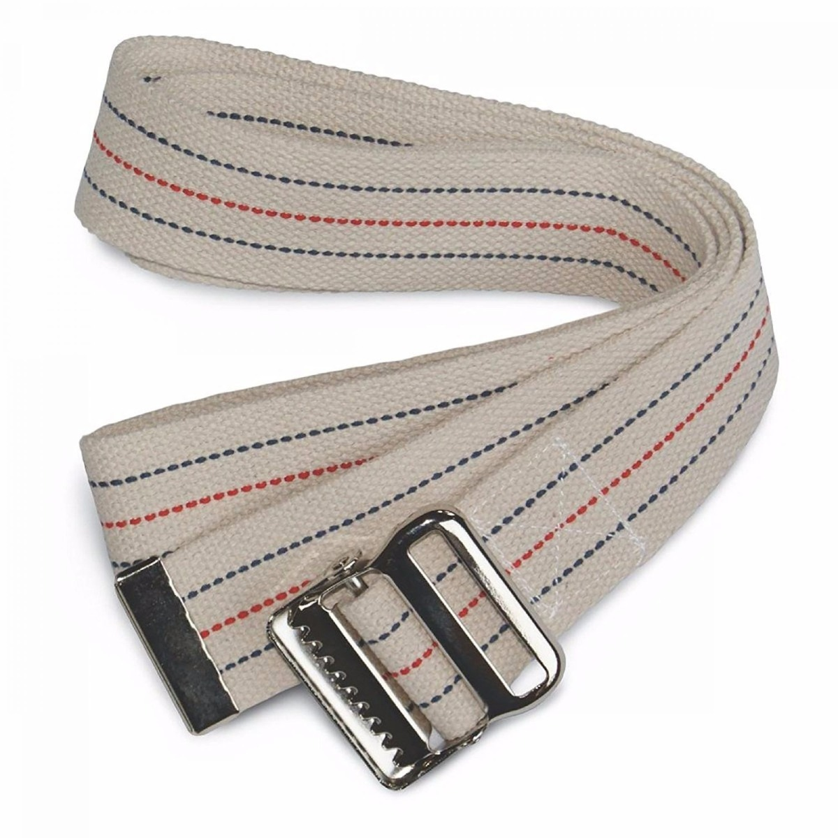 "Sammons Preston Gait Belts, 54"", Neutral Stripe, Each"