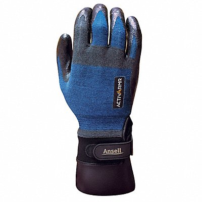 Nitrile Cut Resistant Gloves ANSI/ISEA Cut Level 3 Kevlar? Nylon Spandex? Stainless Steel Linin