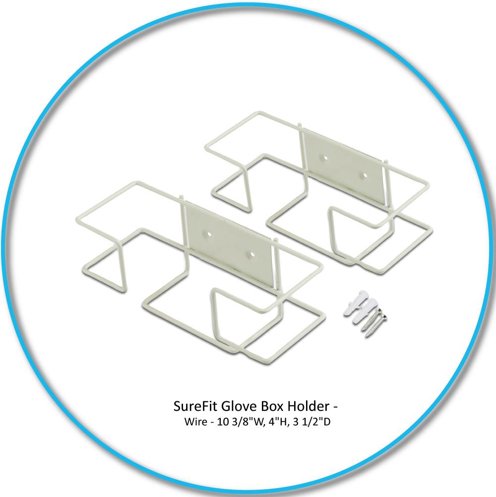 Medgluv SureFit Glove Box Holder Wire Single, 10 Holders/case