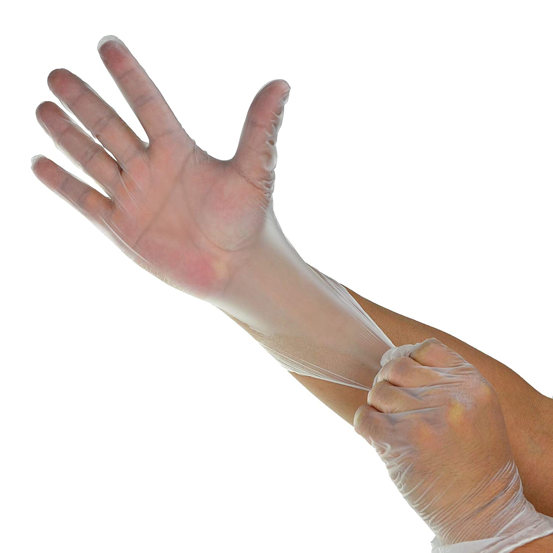 Vinyl Exam Gloves,N/S, Powder Free