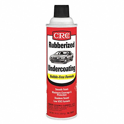 Black Rubberized Undercoating 20 oz Container Size