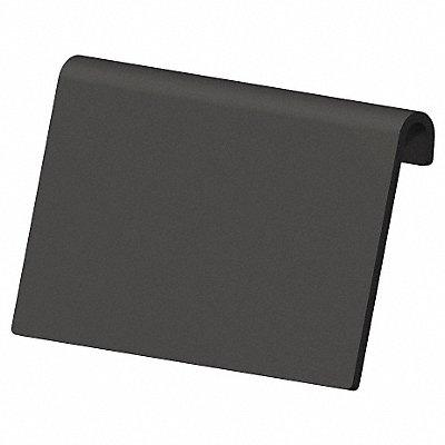 Industrial Grade Polymer Label Holder Black 4 L x 2-1/4 W 24 PK