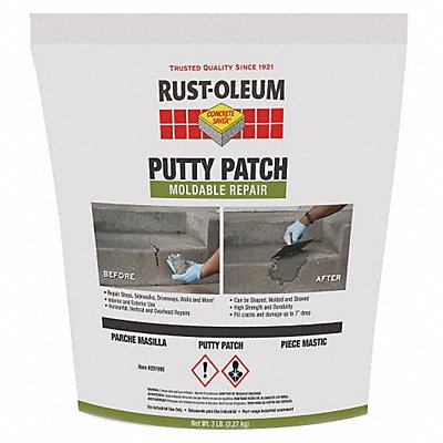 3 lb Putty with Temp Range of 50-100 F Gray