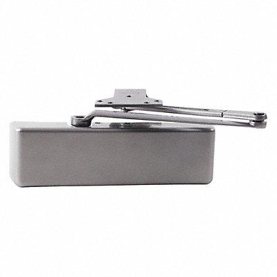 Manual Hydraulic LCN 4040-Series Door Closer Heavy Duty Interior and Exterior Silver