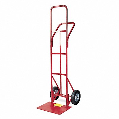 High-Frame Hand Truck 400 lb Load Capacity Continuous Frame Dual Pin 19 Noseplate Width
