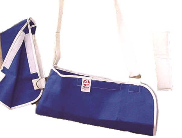 Tetra Arm Sling With Neck Pad, Universal, Adjusts From Pediatric To Adult, Sold Individually