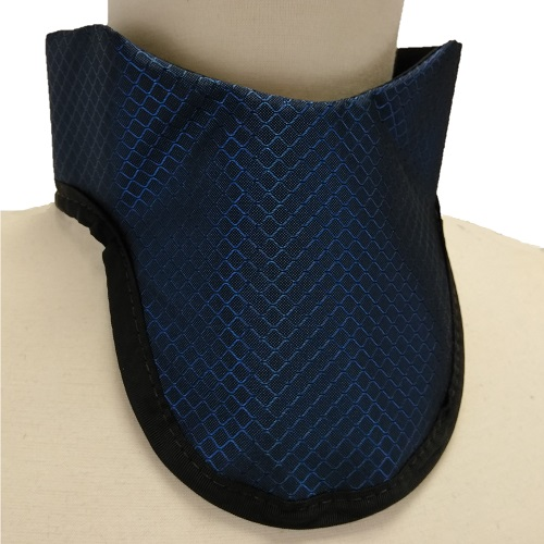 USAXRAY Thyroid Shield, Soft W/ Bottom Binding. Hook & Loop Back Closure. 0.5Mm Pb Equiv. Lite Weig