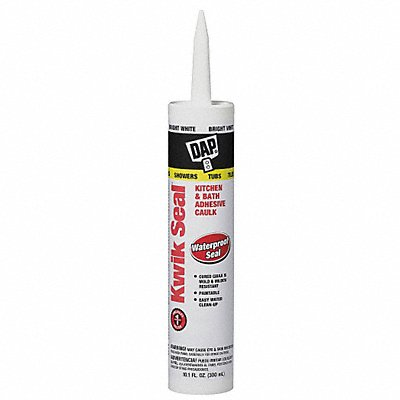 Clear Caulk Acrylic 10.1 oz Cartridge
