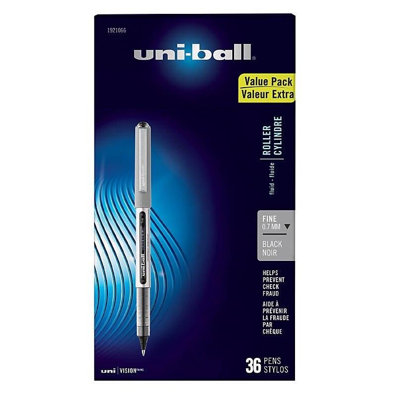 Sanford Brands uni-ball Vision Rollerball Pen, Pack of 12