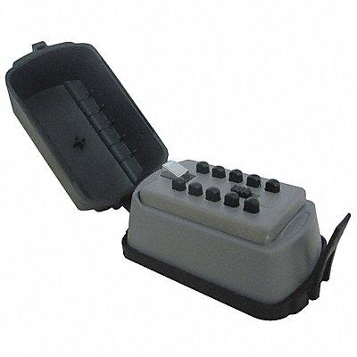 Lock Box Push Button 2 Key Capacity Mounting Type Surface