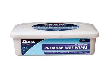 Personal Wipe Dukal Premium Tub Aloe / Lanolin Scented