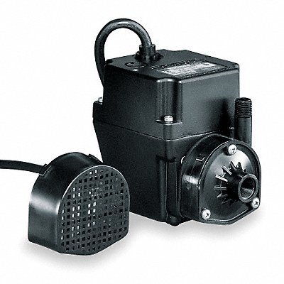 1/40 HP Recirculating Pump 115V Voltage Continuous Duty 15 ft Cord Length