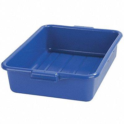20 x 15 x 5 Durable Resin Tote Box Blue