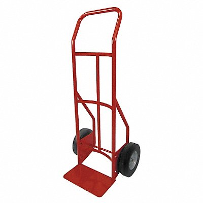 Hand Truck 800 lb Load Capacity Continuous Frame Flow-Back 14 Noseplate Width