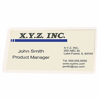 Laminating Pouches 2-1/4x3-3/4in PK100