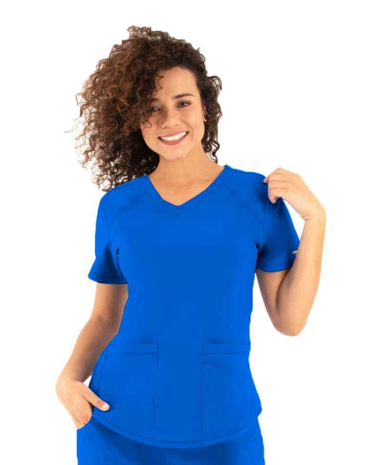 Image for LifeThreads Contego Active Women's V-Neck Top from Stockd.