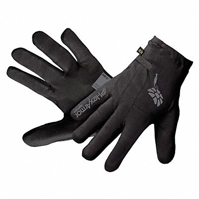 Uncoated Cut Resistant Gloves ANSI/ISEA Cut Level A9 SuperFabric? Lining Black L PR 1