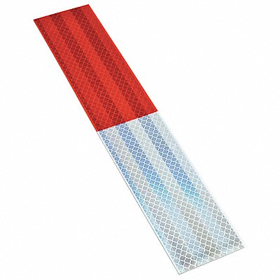 Reflective Tape Strips 2 Width 12 Length Truck and Trailer Poly Bag Package Quantity 10