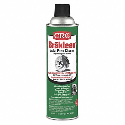 Brake Cleaner and Degreaser Aerosol Can 20 oz. Flammable Non Chlorinated  |  Box of 12