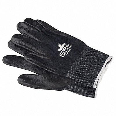 Nitrile Cut Resistant Gloves ANSI/ISEA Cut Level A4 Kevlar? Lining Black L PR 1