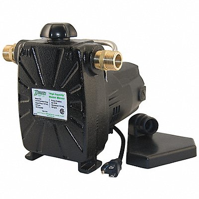 1/2 HP Utility Pump 115 Voltage 3/4 NPT Inlet 3/4 NPT Outlet