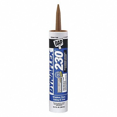 Cedar Tan Caulk Acrylic 10.1 oz Cartridge