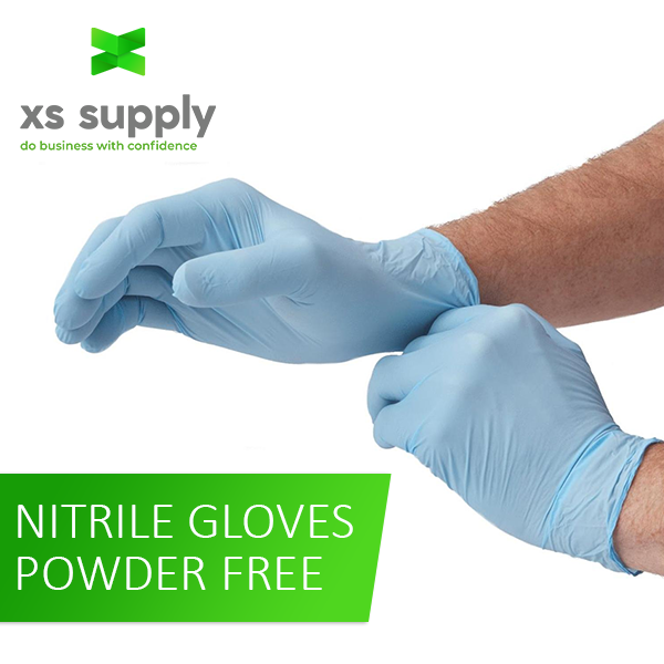 Nitrile Exam Gloves (X-Large) | Case Of 1000