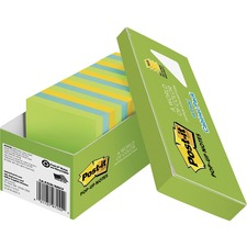 Post-it Pop-up Notes - Jaipur Color Collection,3x3, Popup, MMMR33018AUCP, Pack of 18