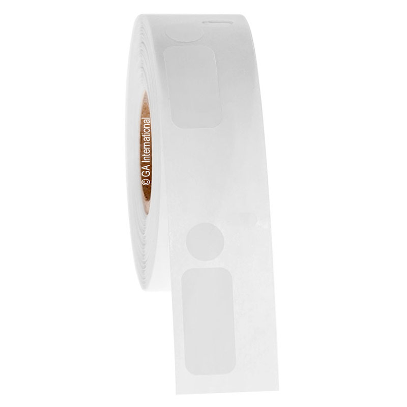 """Cryo Dtermo - DYMO-Compatible Cryogenic Labels - 0.5"""" x 1.04"""" + 0.375"""" 