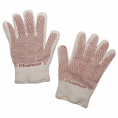 Steam Resistant Gloves Cotton/Acrylic 400¬F Max Temp. Universal PR 1