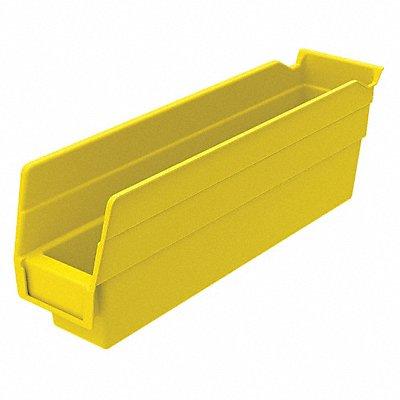 Shelf Bin Yellow 4 H x 11-5/8 L x 2-3/4 W 1EA  |  Box of 24