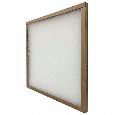 16x25x1 MERV 5 Fiberglass Non-Pleated Air Filter  |  Box of 12