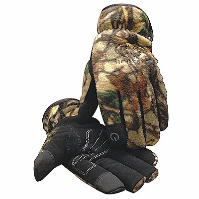 Cold Protection Gloves Heatrac? Lining Slip-On Cuff Camouflage XL PR 1