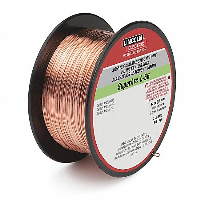 2 lb Carbon Steel Spool MIG Welding Wire with 0.035 Diameter and ER70S-6 AWS Classification