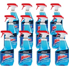 Windex Glass Cleaner with Ammonia-D, SJN695155CT, Case of 12