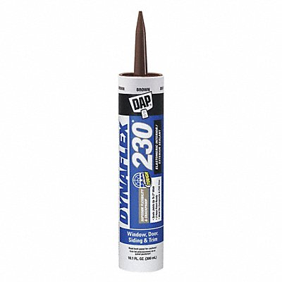 Brown Caulk Acrylic 10.1 oz Cartridge