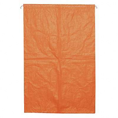 Orange Sand Bag 27 Length 18 Width 50 lb Weight Capacity 100 PK