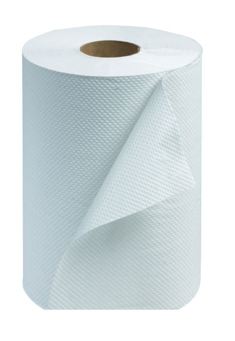 """Tork RB351 Universal 8""""x350' White Paper Roll Towel, 12/Case"""
