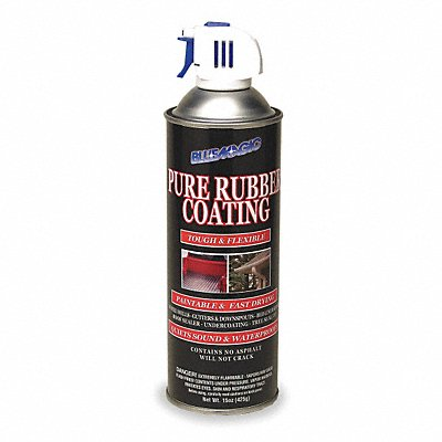 Black Rubberized Undercoating 15 oz Container Size
