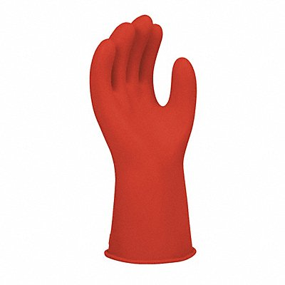 Red Electrical Gloves Natural Rubber 0 Class Size 9