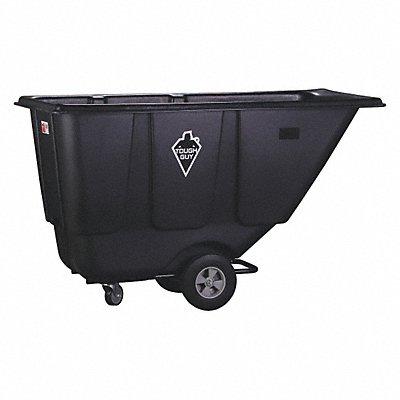 Black Tilt Truck 13.5 cu ft Capacity 300 lb Load Capacity