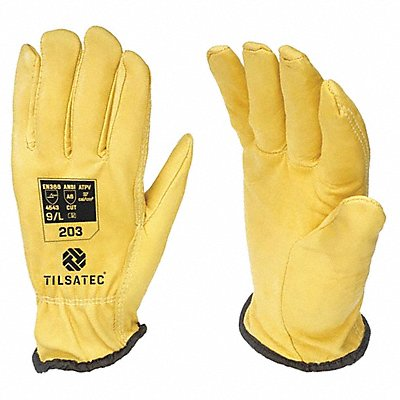 Cut Resistant Gloves ANSI/ISEA Cut Level A6 Lining Yellow 11 PR 1