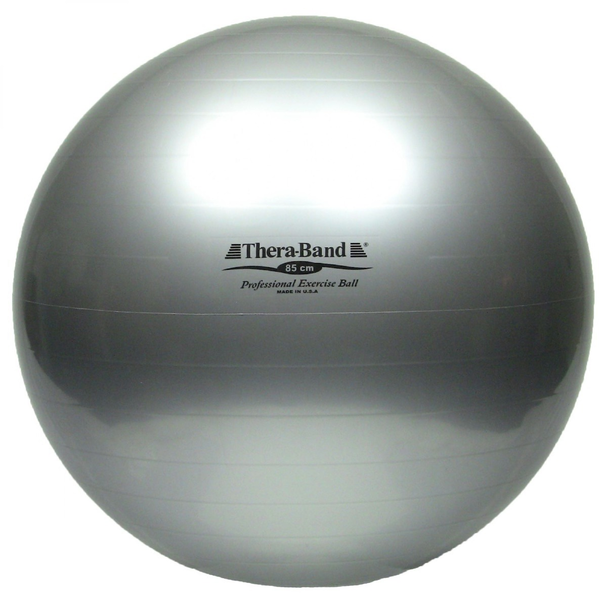 TheraBand Standard Exercise Ball, 85 cm, Silver